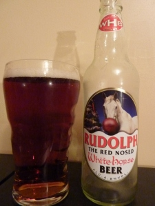 White Horse Rudolph the Red Nosed White Horse Beer small